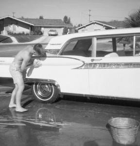 boy car wash